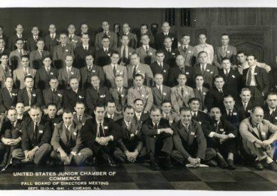USJCC Fall BOD 1941